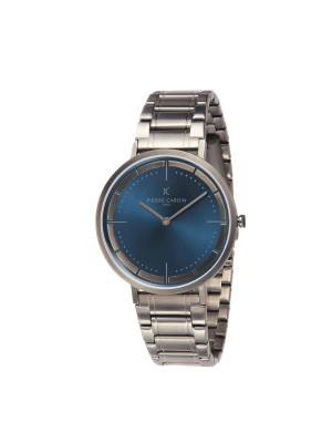 Pierre cardin Mens Watch Classic StainlessSteel Band